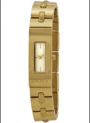 DKNY Women's Beekman Champagne Dial Gold Tone Watch NY2139