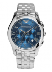 Emporio Armani Men's Classic Chronograph Navy Blue Dial Watch AR1787