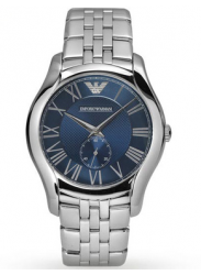 Emporio Armani Men's Classic Blue Dial Watch AR1789