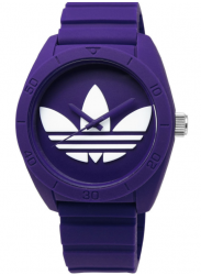 Adidas Unisex Santiago Purple Rubber Watch ADH6175