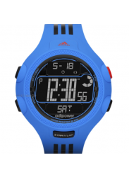Adidas Men's Digital Dial Blue Rubber Strap Watch ADP3122
