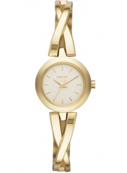 DKNY Women's Crosby Champagne Dial Gold-tone Watch NY2170