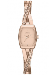 DKNY Women's Crosswalk Rose Dial Rose Gold Tone Watch NY2238