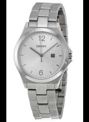 DKNY Women's Soho Silver Dial Silver Tone Watch NY2365