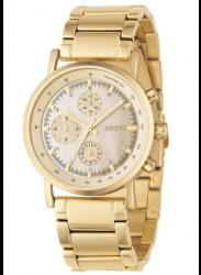 DKNY Women's Chronograph Gold Tone Watch NY4332