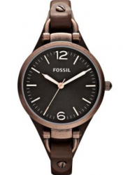 Fossil Women's Georgia Brown Dial Watch ES3200