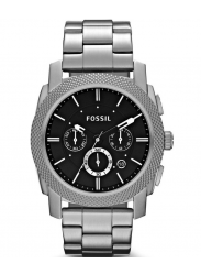 Fossil Men's Machine Chronograph Black Dial Watch FS4776