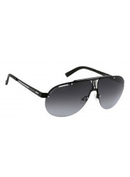 Carrera Unisex Aviator Half-Rim Dark Grey Sunglasses CARRERA 34 003/9O