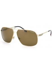 Carrera Unisex Aviator Full Rim Gold Tone Brown Sunglasses CARRERA 59 83I/SP