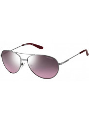 Carrera Unisex Aviator Full Rim Silver Purple Sunglasses CARRERA 69 6LB/HH