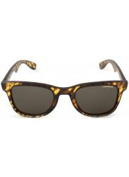 Carrera Unisex Wayfarer Full Rim Blonde Havana Matte Sunglasses CARRERA 6000 87G/8H