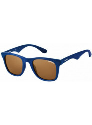 Carrera Unisex Wayfarer Full Rim Blue Sunglasses CARRERA 6000/L 2D2/N0
