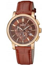 Charmex Men's Kyalami Chronograph Brown Dial Brown Leather Watch CX-2063