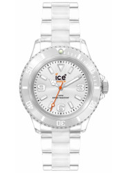 Ice Watch Unisex Silver Dial Transparent Plastic Watch CL.SR.U.P.09