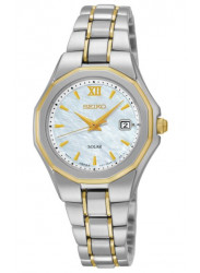 Seiko Women's Core Two Tone Watch SUT226