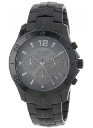 Pulsar Men's Black Dial Black Watch PT3293