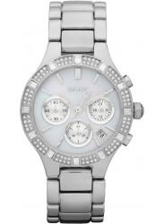 DKNY Women's Chronograph Silver Tone Watch NY8507