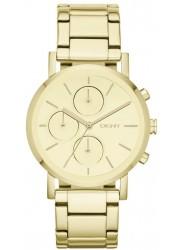 DKNY Women's Lexington Gold Dial Gold Watch NY8861
