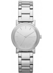 DKNY Women's Soho Silver Tone Dial Stainless Steel Watch NY2177