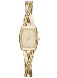 DKNY Women's Crosswalk Champagne Dial Gold Tone Watch NY2237