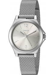 DKNY Women's Parsons Silver Dial Mesh Stainless Steel Watch NY2488