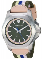 Victorinox Women's INOX Multi Colour Dial Multi Colour Fabric Strap Watch 241809