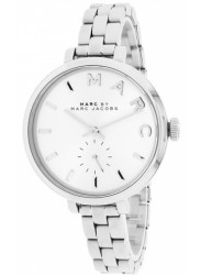 Marc by Marc Jacobs Women's Sally Silver Dial Stainless Steel Watch MBM3362