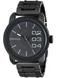 Diesel Men's Black Textured Stainless Steel Watch DZ1371