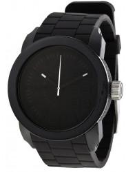 Diesel Unisex Black Dial Black Silicone Strap Watch DZ1437
