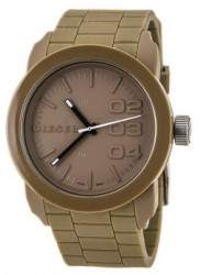 Diesel Men's Beige Dial Beige Silicone Rubber Watch DZ1532