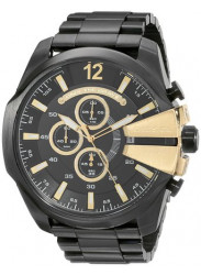 Diesel Men's Mega Chief Chronograph Black Dial Watch DZ4338