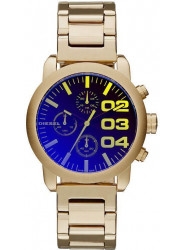 Diesel Women's Flare Chronograph Gold-tone Watch DZ5467