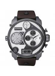 Diesel Men's Mr Daddy Chronograph Brown Leather Watch DZ7126