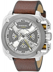 Diesel Men's BAMF Brown Leather Watch DZ7343