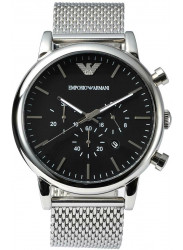 Emporio Armani Men's Classic Chronograph Black Dial Watch AR1808