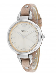 Fossil Women's Georgia Sand Tan Leather Watch ES2830