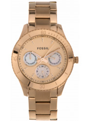 Fossil Stella Women's Chronograph Rose Gold-tone Watch ES2859