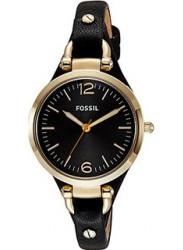 Fossil Women's Georgia GMT Black Dial Watch ES3148