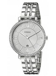 Fossil Women's Jacqueline Silver Dial Watch ES3545