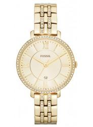 Fossil Women's Jacqueline Gold Tone Watch ES3547