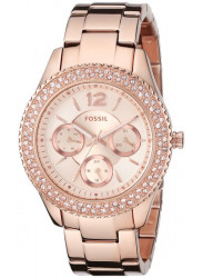 Fossil Women's Stella Rose Gold Tone Watch ES3590