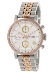 Fossil Women's Stella ES3840 Silver Stainless-Steel Quartz Watch