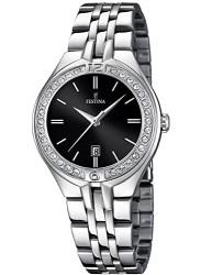 Festina Women's Mademoiselle Black Dial Stainless Steel Watch F16867/2