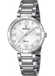 Festina Women's Mademoiselle Silver Dial Stainless Steel Watch F16936/A