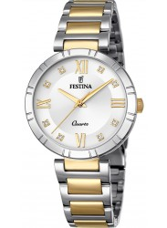 Festina Women's Mademoiselle Silver Dial Two Tone Stainless Steel Watch F16937/A