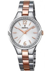 Festina Women's Petite Silver Dial Two Tone Stainless Steel Watch F20247/1