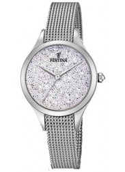 Festina Women's Mademoiselle Crystal Dial Stainless Steel Watch F20336/1