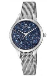 Festina Women's Mademoiselle Blue Crystal Stainless Steel Watch F20336/2