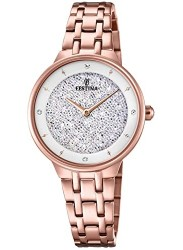 Festina Women's Mademoiselle Crystal Dial Rose Gold Stainless Steel Watch F20384/1