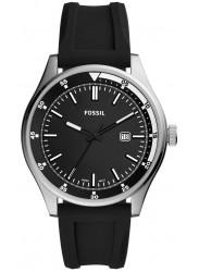 Fossil Men's Belmar Black Dial Black Rubber Watch FS5535